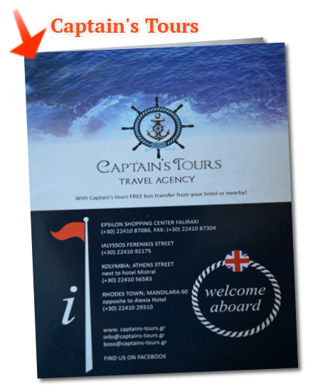 Captains Tours Excursions Cruises Brochure