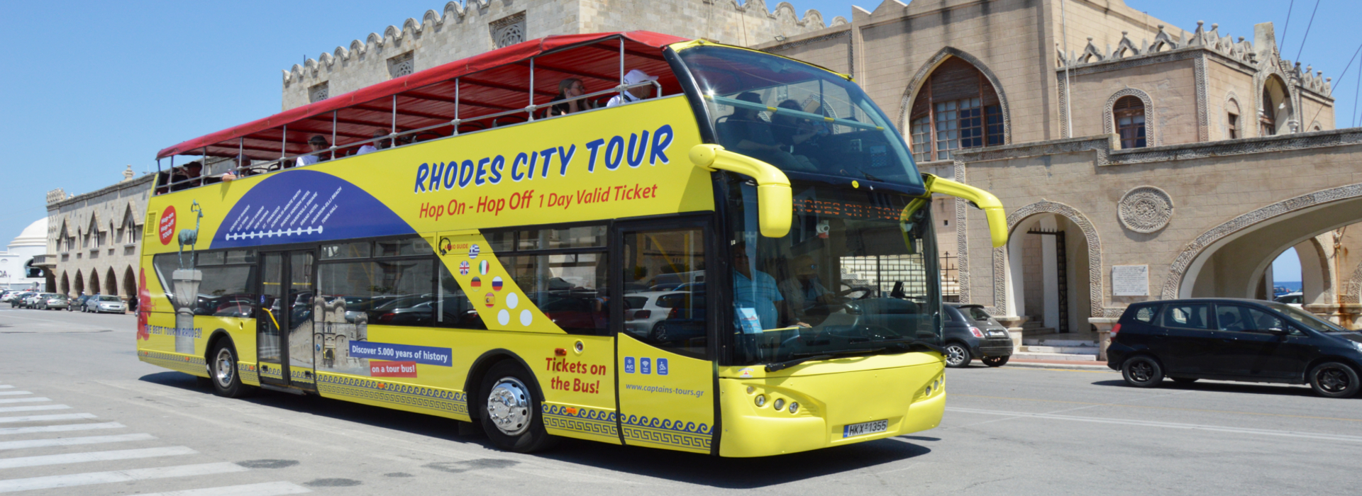Rhodes City Tour with OpenBus by Captains Tours