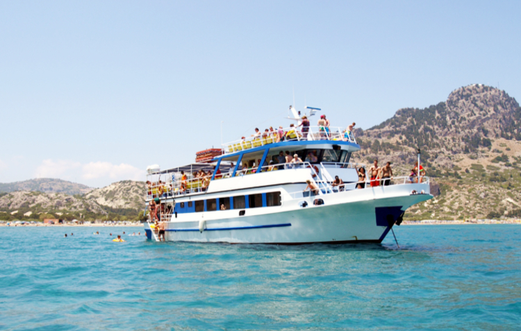 Cruises Rhodes, Symi, Panormitis - Captains Tours