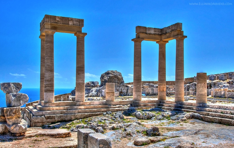 Lindos Acropolis by Coach Excursion