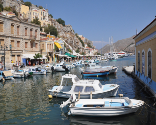 Symi Island - Panormitis Monastery | Cruises | Captains Tours Rhodes Greece