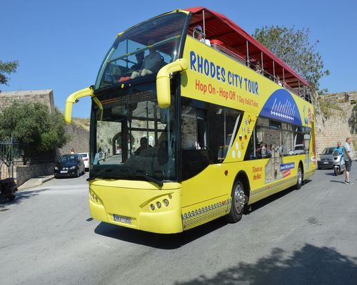 Rhodes City Tour with Open Bus | Captains Tours Travel Agency Rhodes, Greece