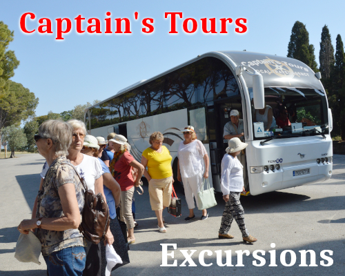 Excursions en bus | Captains Tours Rhodes Grèce