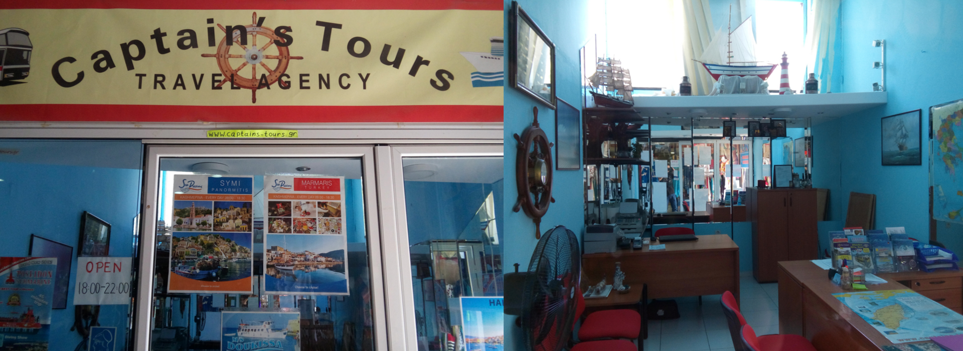 Captain's Tours Travel Agency | About our company