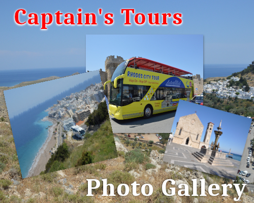 Galerie de photos | Captains Tours Rhodes Grèce